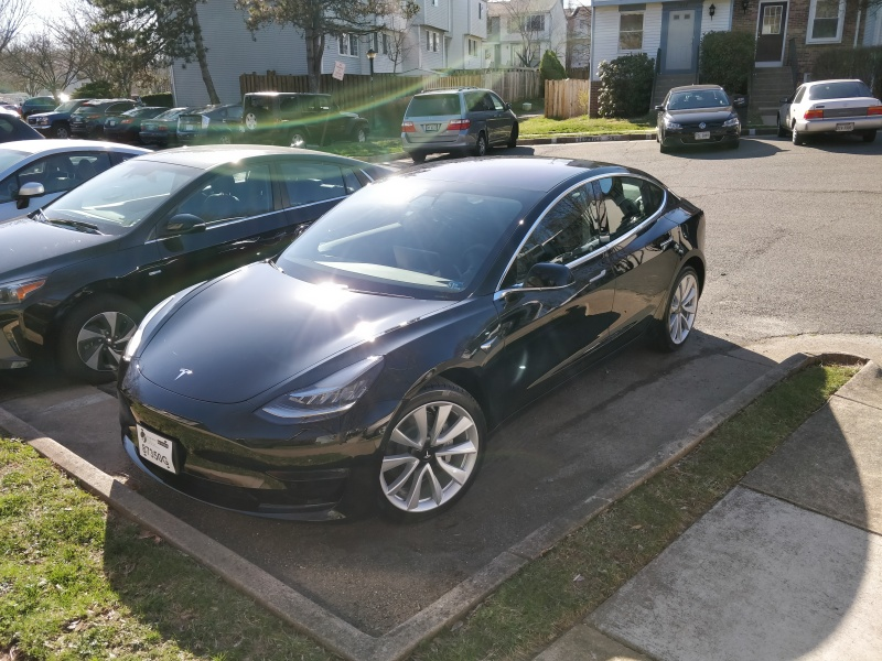 My Tesla Model 3 (LR AWD).